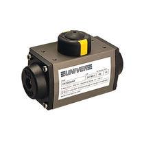 Actuador para válvula neumático / rotativo / de pistón / de doble efecto