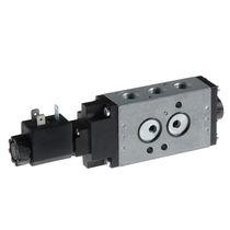 Válvula con chapaleta / con control neumático / de distribución / para aire