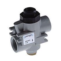 Válvula con control neumático / de bloqueo
