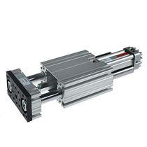 Unidad de guiado lineal con rodamiento de bolas / para cilindro / con riel