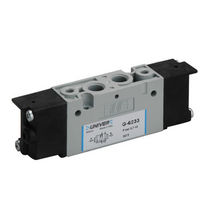 Distribuidor hidráulico de cajón / con control eléctrico / de 3/2 vías