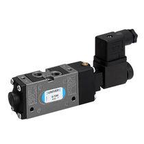 Distribuidor hidráulico de cajón / con control eléctrico / de 5/3 vías / de 5/2 vías