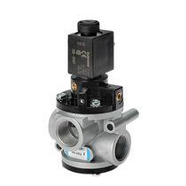 Válvula con chapaleta / eléctrica / con control neumático / de control