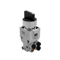 Válvula con chapaleta / manual / 3/2 / de 5/2 vías