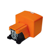 Válvula con chapaleta / de pedal / con control neumático / para aire