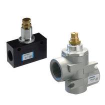 Regulador de caudal volumétrico / para aire