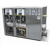 Caldera de agua caliente / de gas / de condensación