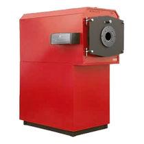 Caldera de agua caliente / de gas / de condensación / vertical