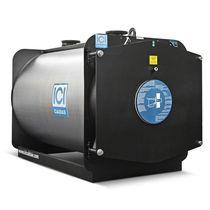 Caldera de agua caliente / de gas / horizontal