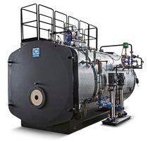 Caldera de vapor / de gas / horizontal / 3 pasos
