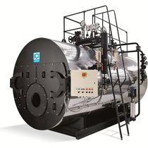 Generador de vapor de gas / de fuel / de tubos de humo / 3 pasos