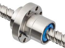 Husillo de bolas laminado / acero / de alto rendimiento / de recirculación