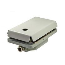 Interruptor de pedal de control / 1 pedal / compacto / reforzado