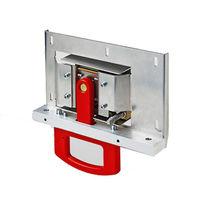 Manilla de frenado de emergencia / abatible / para aplicaciones ferroviarias / de aluminio