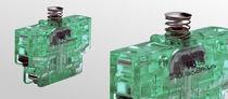 Interruptor unipolar / con palanca de rodillo / con doble ruptura / electromecánico