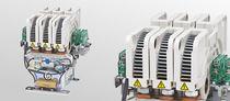 Contactor de trinquete leva / multipolar / para aplicaciones ferroviarias / para la industria