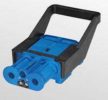 Conector RF / rectangular / de tornillo / para corrientes fuertes