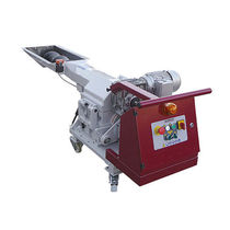 Granuladora para plásticos de desechos / horizontal / de baja velocidad / a pié de prensa