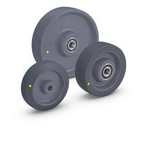 Rueda con aro / de termoplástico / de poliamida / para carga pesada