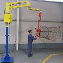 Manipulador neumático / con horquilla / para manutención / de columnas