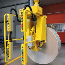 Manipulador neumático / con asidero / de manipulación / para bobinas de papel