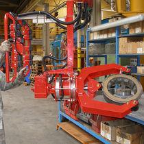 Manipulador neumático / con asidero / para componentes mecánicos / de cabinas