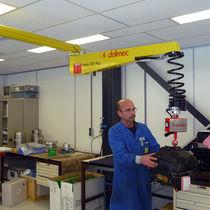 Manipulador neumático / con gancho / para componentes mecánicos / de columnas