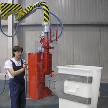 Manipulador neumático / con horquilla / para contenedores / de manipulación