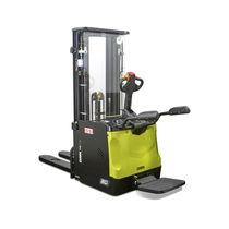 Apiladora eléctrica / con operador a pie / de elevación