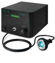 Fuente luminosa con lámpara de halogenuros metálicos / UV / compacta / para microscopio
