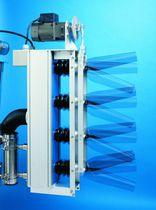 Sistema de secado por lámina de aire para cajas / con boquillas oscilantes