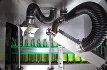 Sistema de secado por lámina de aire para botellas