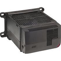 Resistencia calefactora con ventilación / con termostato / compacta / para armarios eléctricos