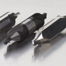 Broca monobloque / para acero / de acero rápido / de 2 dientes
