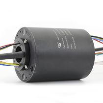 Anillo colector eléctrico / vía Ethernet / PROFIBUS / de eje hueco