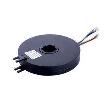 Anillo colector con centro hueco / de botón / de plástico / PCB