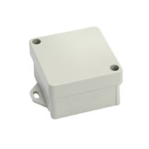 Caja de tamaño pequeño / rectangular / de aluminio fundido / vacía