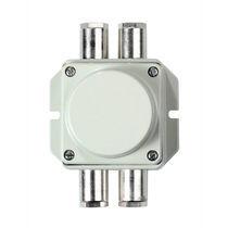 Caja de conexiones de pared / IP66 / de aluminio fundido / con prensaestopas