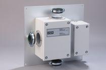 Conexión de tubo redondo / calefactor