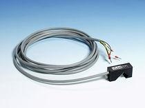 Caudalímetro de área variable / para gas / con alarma integrada / clamp-on