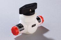 Válvula de bola / manual / para gas / compacta