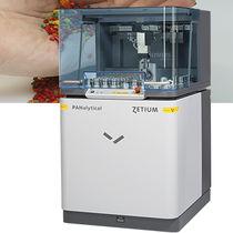 Espectrómetro de rayos X / de fluorescencia de rayos X / para el análisis de polímeros