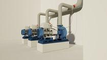 Convertidor de bomba / en serie / para sistemas hidráulicos / para control automático