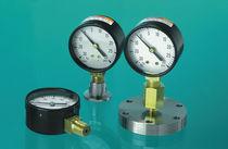 Manómetro de tubo Bourdon / de esfera / para vacío