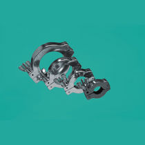 Abrazadera de apriete con orejas / de aluminio