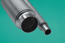 Tubo flexible de acero inoxidable / de paredes finas / de soldar