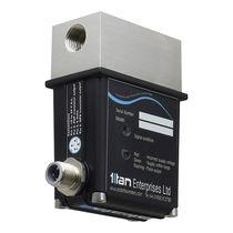 Caudalímetro por ultrasonidos / para líquido / de acero inoxidable / IP65