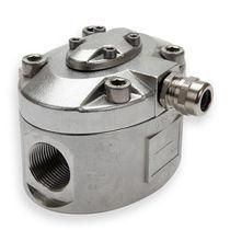 Caudalímetro de piñones ovalados / para agua / en línea