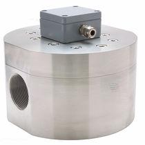 Caudalímetro de piñones ovalados / para agua / de brida