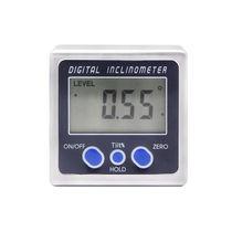 Inclinómetro digital / con pantalla LCD / para medición de ángulo